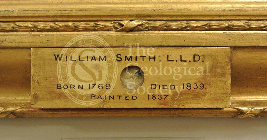 Lock of William Smith's hair