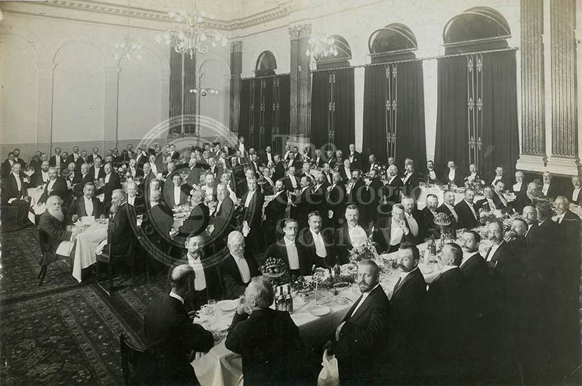 Geological Society Club dinner, 1907 (1)