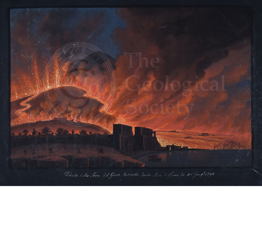 Destruction of Torre del Greco, 15th June 1794