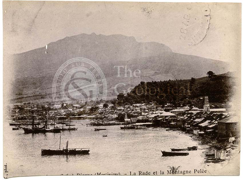 St Pierre before the eruption