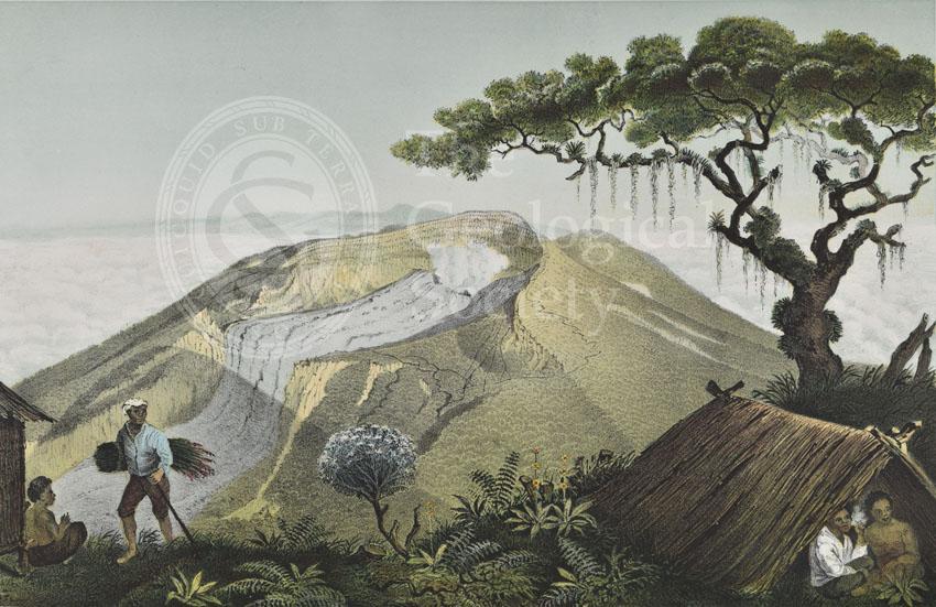 Mount Gede, Java