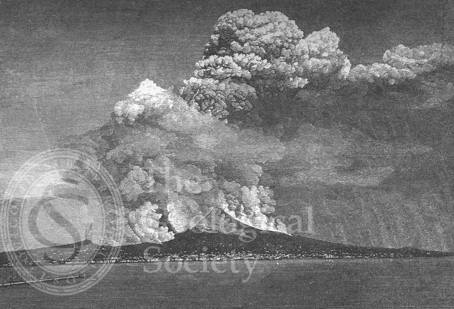 Vesuvius in Eruption, 1872