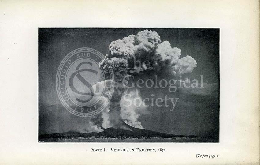 Vesuvius in Eruption, 1872