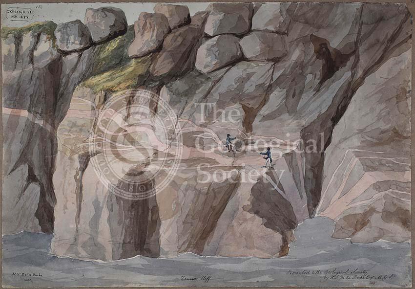 Cliffs at Zennor, Cornwall