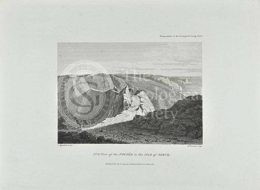 'View of the Coupee in the Isle of Sercq'