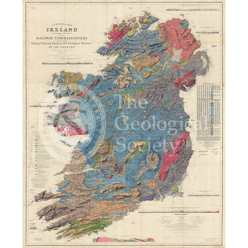A general map of Ireland… (Griffith, 1855)