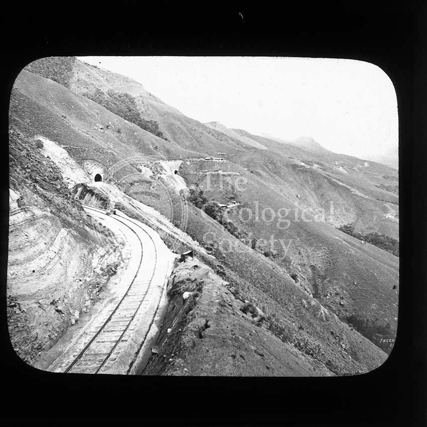 Railway line near Haputale, Sri Lanka