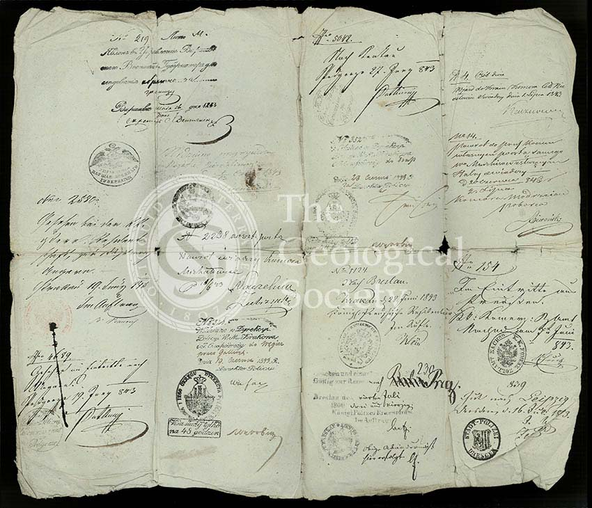 Roderick Murchison's Russian 'passport'