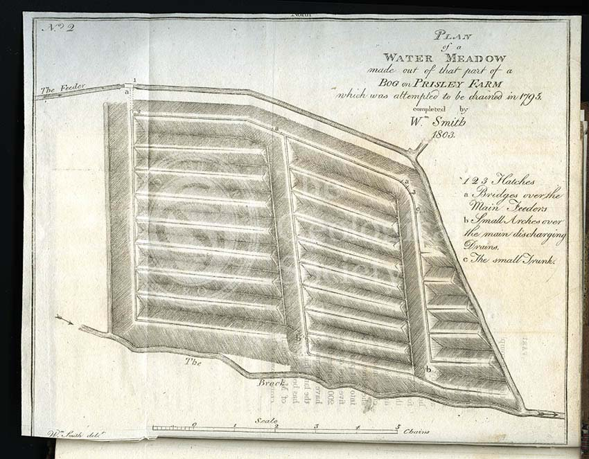 'Plan of a Water-Meadow made out of part of a Bog…'