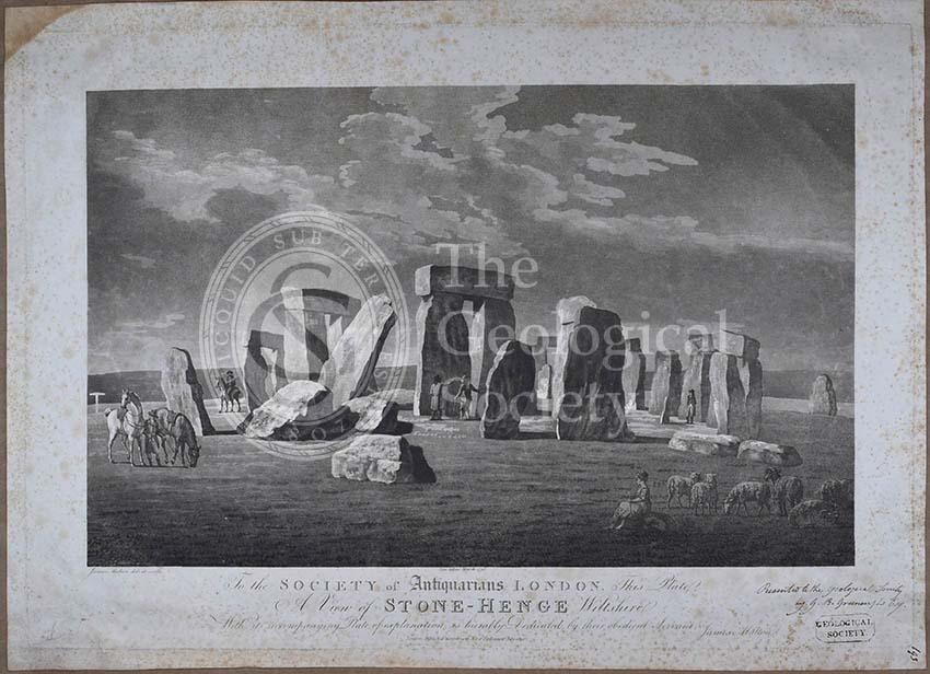 'A view of Stone-Henge [Stonehenge] Wiltshire'