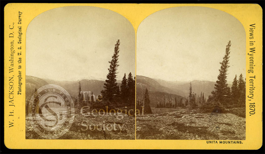 'Views in Wyoming Territory', Unita Mountains, 1870