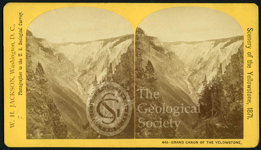 'Scenery of Yellowstone', 1871