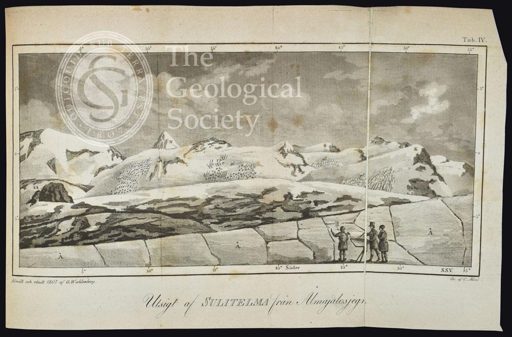 Utsigt af Sulitelma från Ålmajalosjegna' (1807)