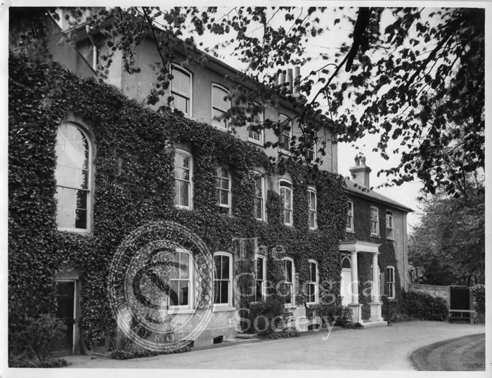 Photograph of Down House, home of Charles Darwin
