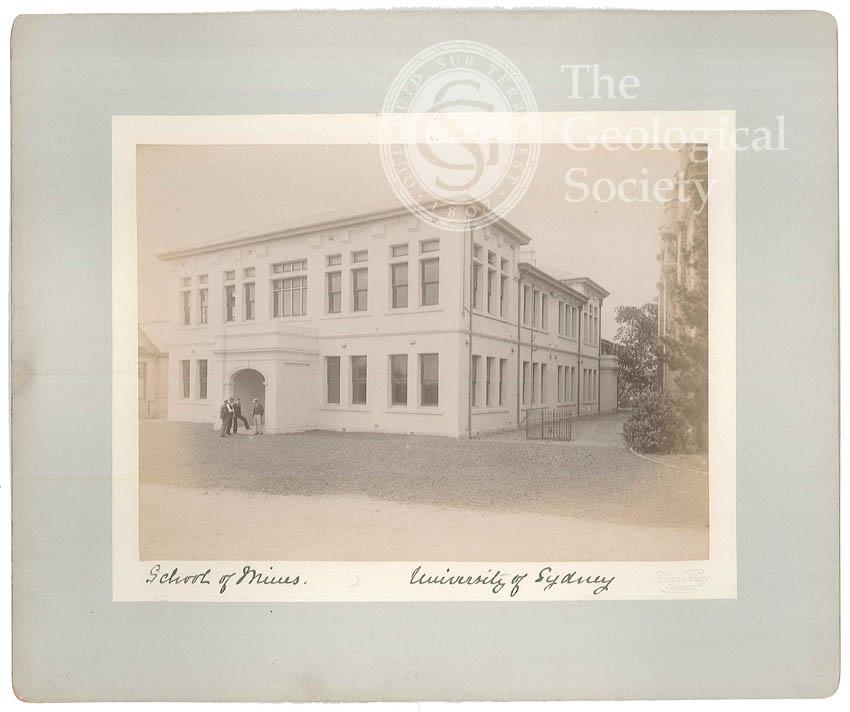 Exterior of the New School of Mines, University of Sydney