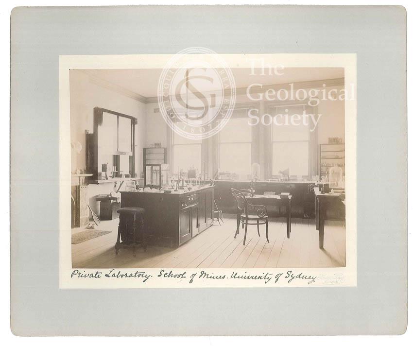 Private Laboratory of the New School of Mines, University of Sydney