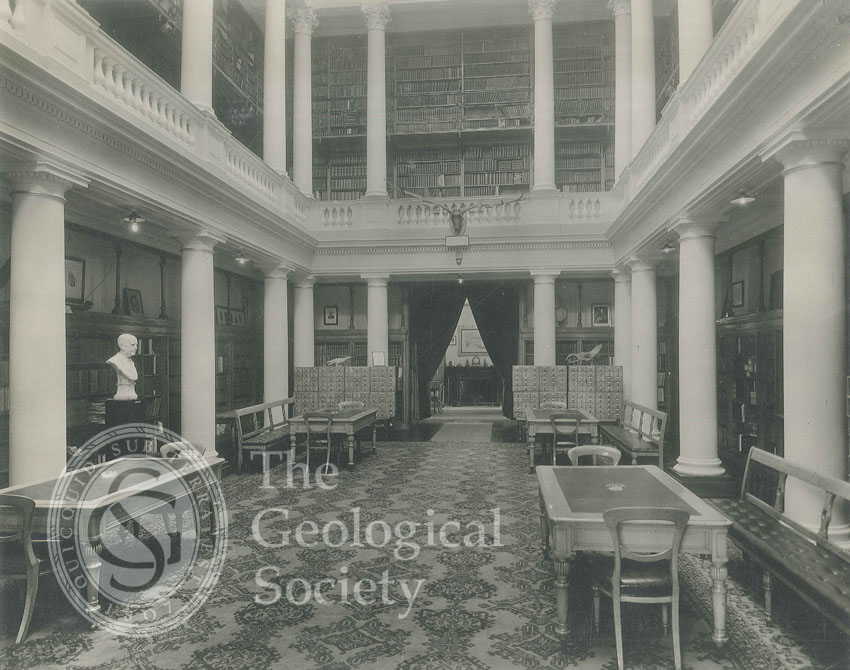 Upper Library of the Geological Society, 1931