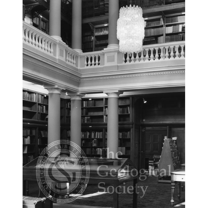 Upper Library, Geological Society, 1972