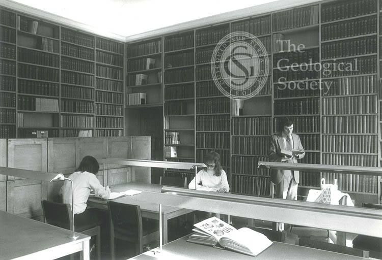 New Reading Room, Geological Society, 1972