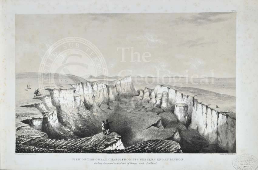 'View of the Great Chasm from its Western end at Bindon…'