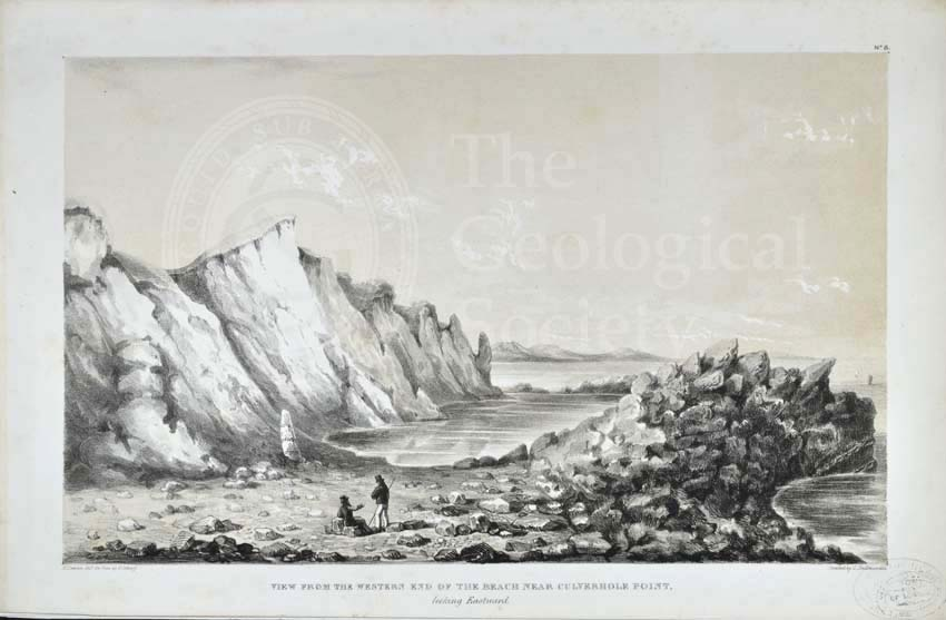 'View from the Western End of the Beach near Culverhole Point…'
