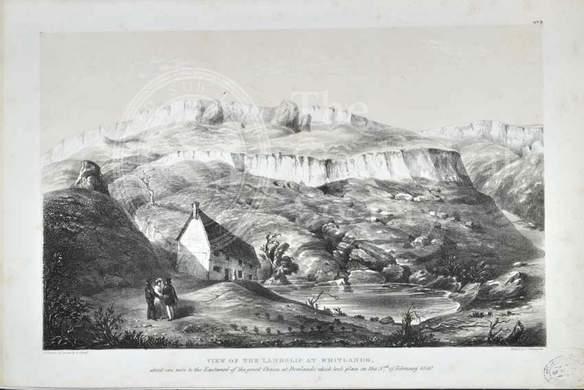 'View of the Landslip from Whitlands…'