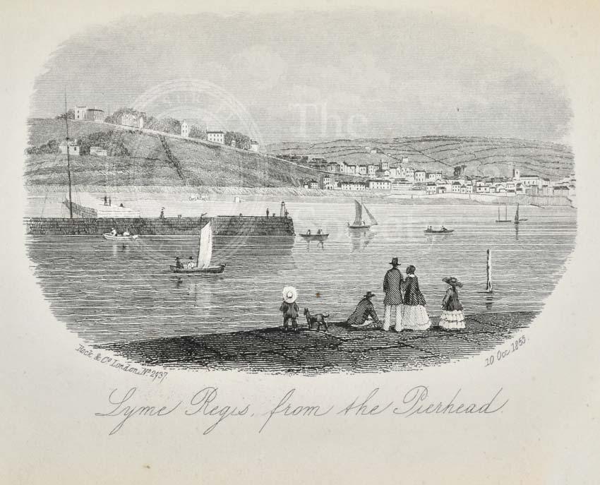 Lyme Regis, from Pierhead